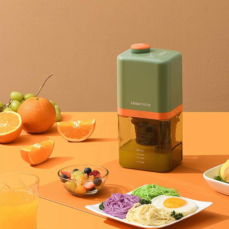 USB بطيئة عصارة المسمار الباردة الصحافة النازع المحمولة خلاط البرتقال عصارة الفاكهة الخضار بطيئة اوجير عصارة صانع عصير