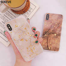 Luxury Gold Foil Bling Marble Silicone Phone Case For iPhone 7 8 Plus iPhone X 10 XR XS Max 6 s 6S 7 7S 6Plus 6SPlus 7Plus 8Plus