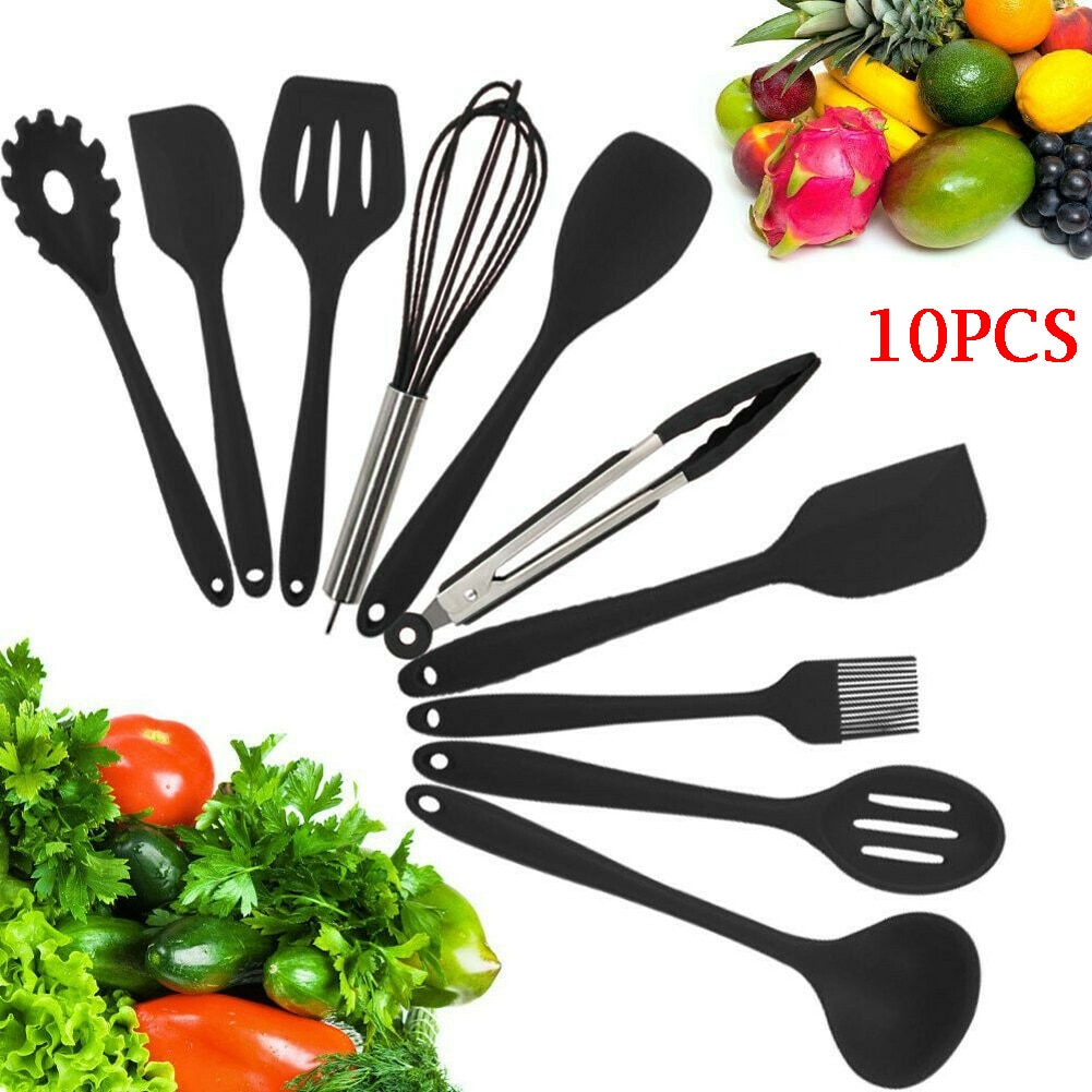 2020 Faroot, espátula de silicona, utensilio de cocina, 10 diseños, utensilios de cocina para hornear, glaseado, utensilios de mezcla, utensilios de cocina, accesorios