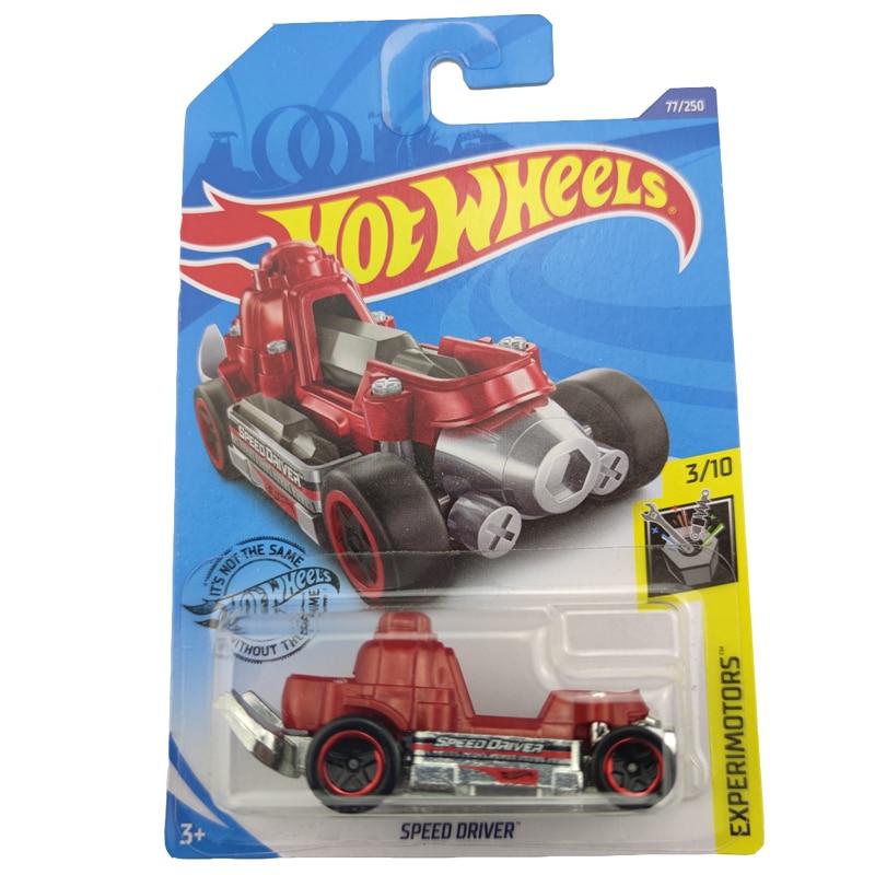 Hot Wheels 164, coche SPEED DRIVER Metal, modelo de coche fundido a presión, juguetes para niños, regalo 2020-77