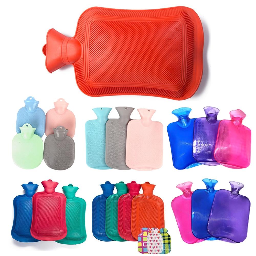 Hot Water Bottle 2000ML Rubber High Density Winter Hand Warmer Portable Thick Hot Water Bottle Girls Pocket  Feet Hot Water Bag enlarge
