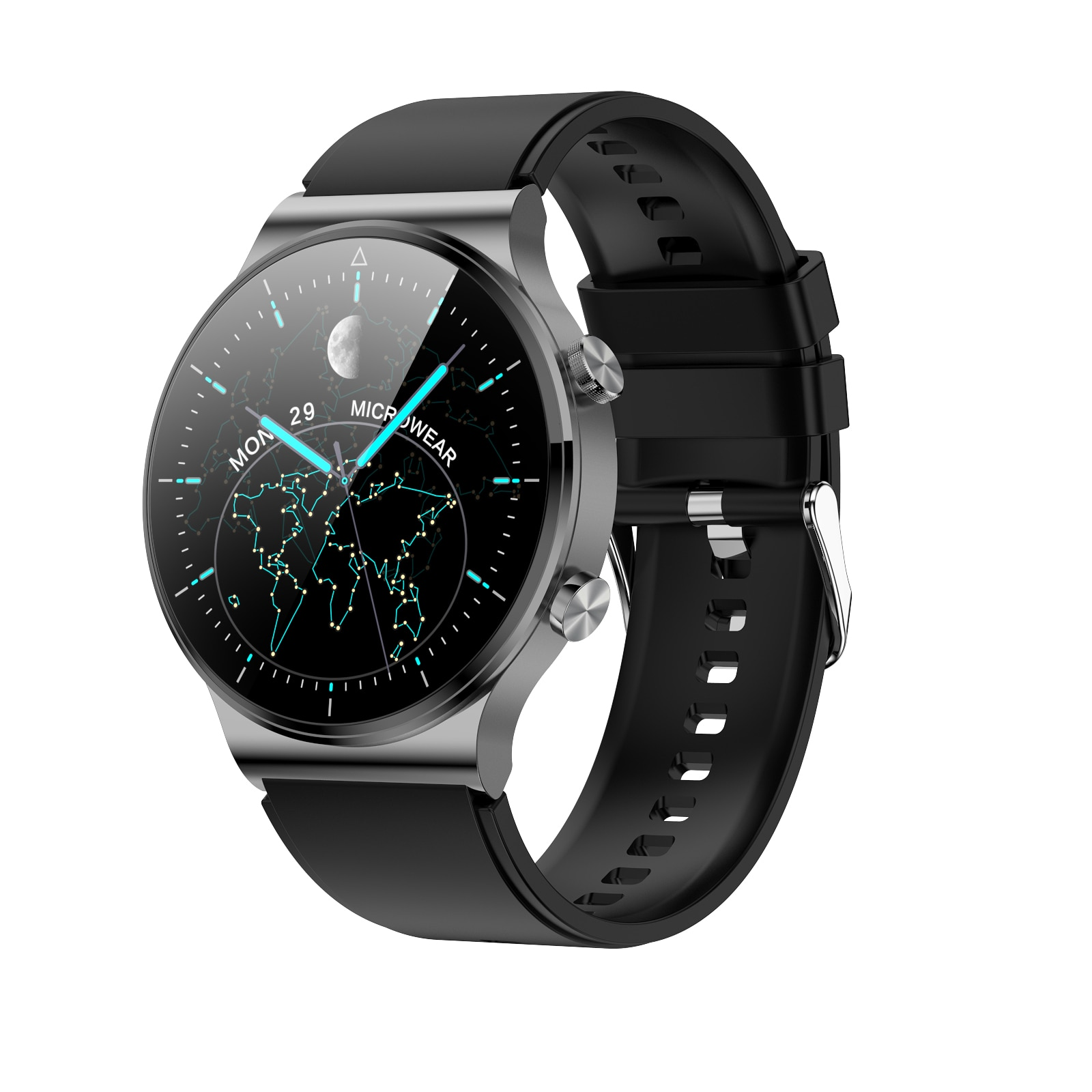 Review Smart Watch 2021 Men Dial Call Watches Smartwatch Waterproof Fitness Bracelet Tracker For Android Apple Huawei Xiaomi