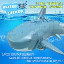 Télécommande requin électrique RC requin sous-marin jouets électronique bain jouet sous-marin requin eau jeu jouet cadeau pour enfants RC bateau