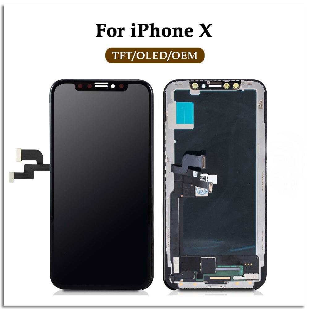 Wholesale For iPhone 4 4S 5S 5C touch screen replacement,  lcd true key without dead pixel, 100% detection enlarge