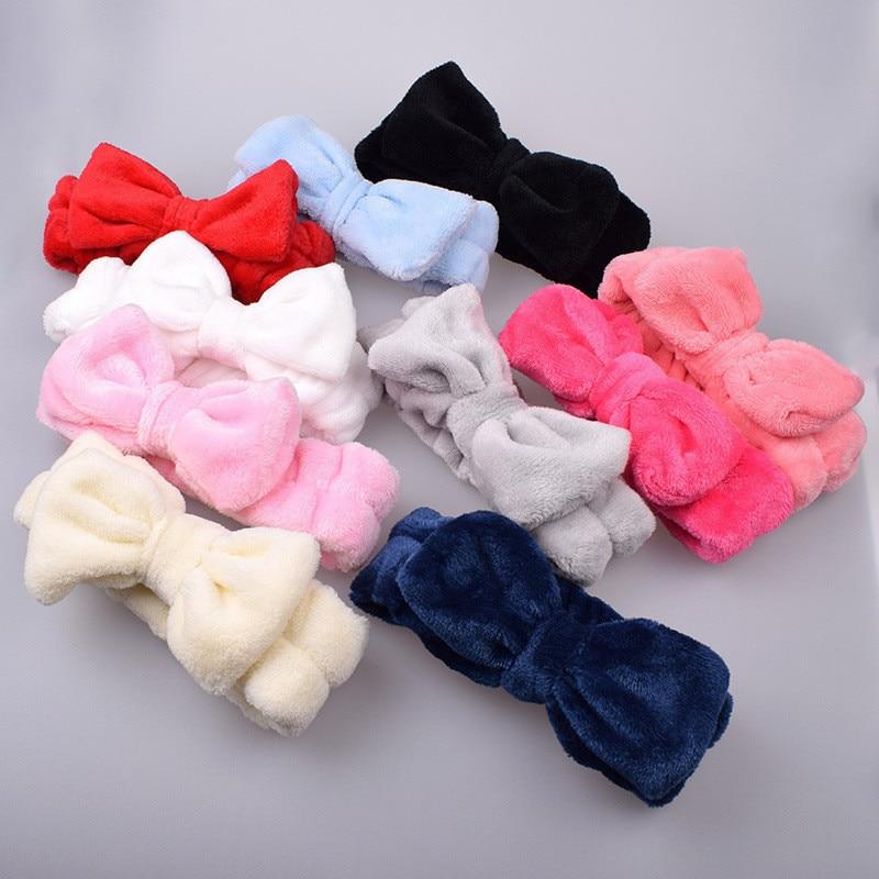 Soporte de banda de pelo suave, banda elástica para la cabeza, bufanda, extensión de pestañas, baño, Spa, accesorios de maquillaje encantadores