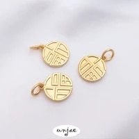 custom made vietnam shajinqiang baosefu brand long lasting fuzi pendant zhaocai nafu bracelet diy headwear pendant