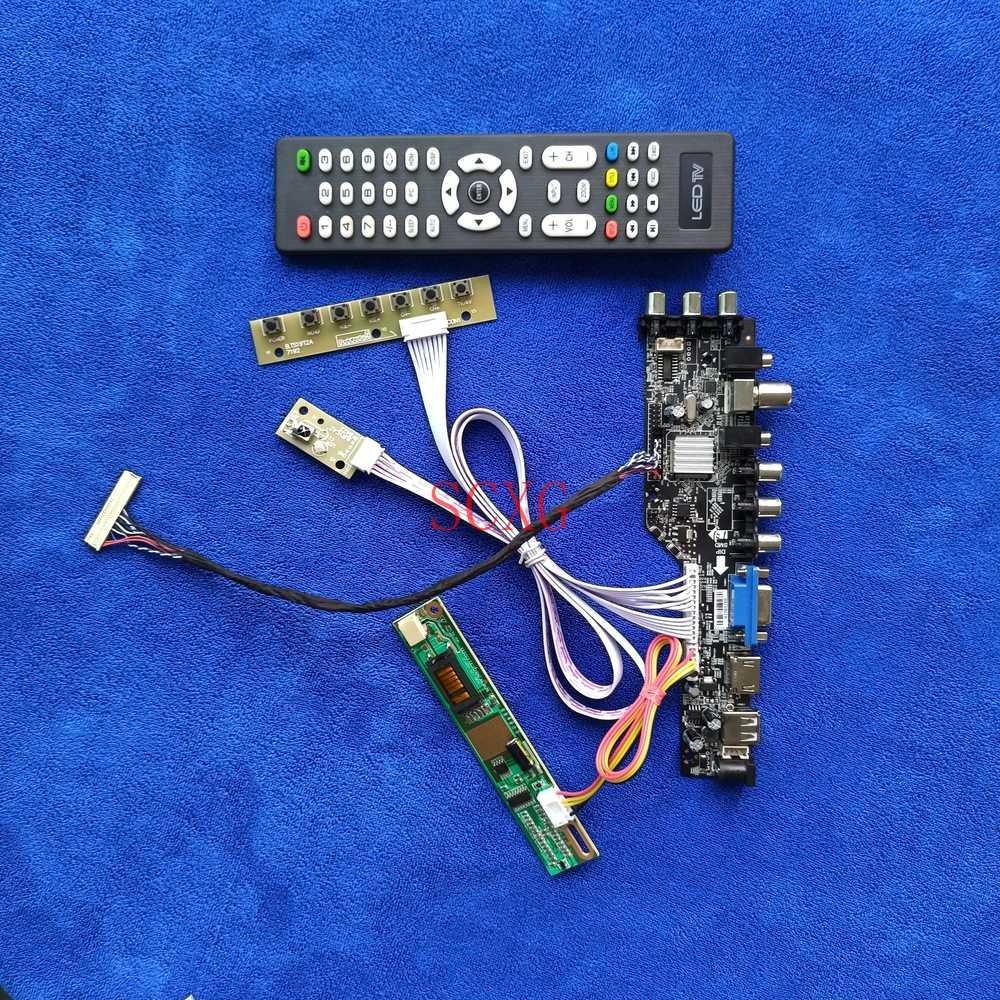1CCFL HDMI-متوافق VGA AV USB شاشة LCD كارت قيادة LVDS 30-Pin Fit N154Z1/N154Z3/QD15AL01/QD15AL02 DVB Digital 1680*1050 KIT