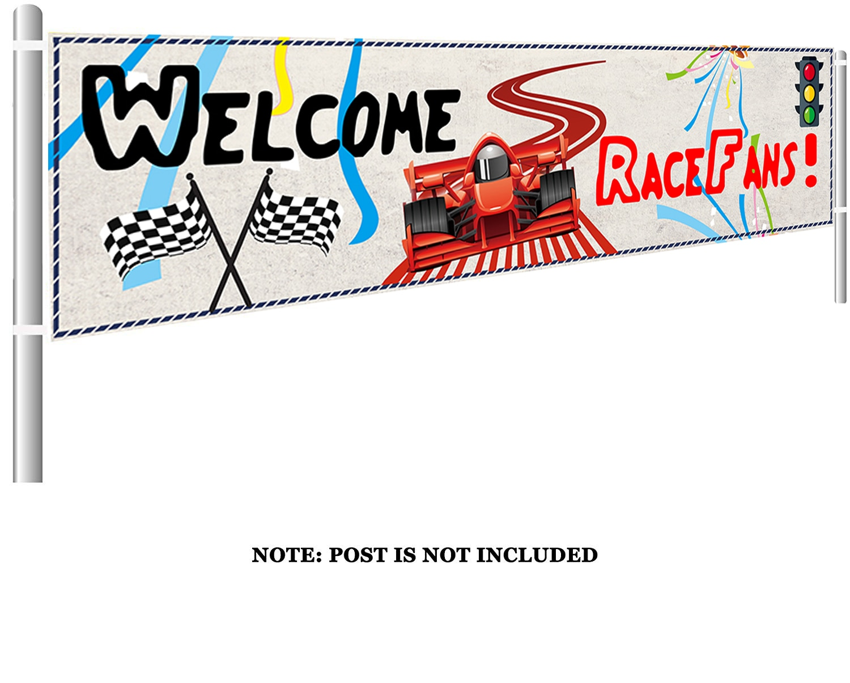 Lager гоночный автомобиль счастливый плакат