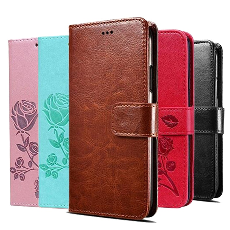 Leather Flip Wallet Case for Samsung Galaxy Ace 4 Ace4 / Ace Style Lte G357 SM-G357FZ G357M Cases Co