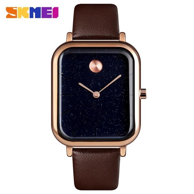 SKMEI9187 New Simple Men's Watch Quartz Watch Ladies Watch Star Couple Watch