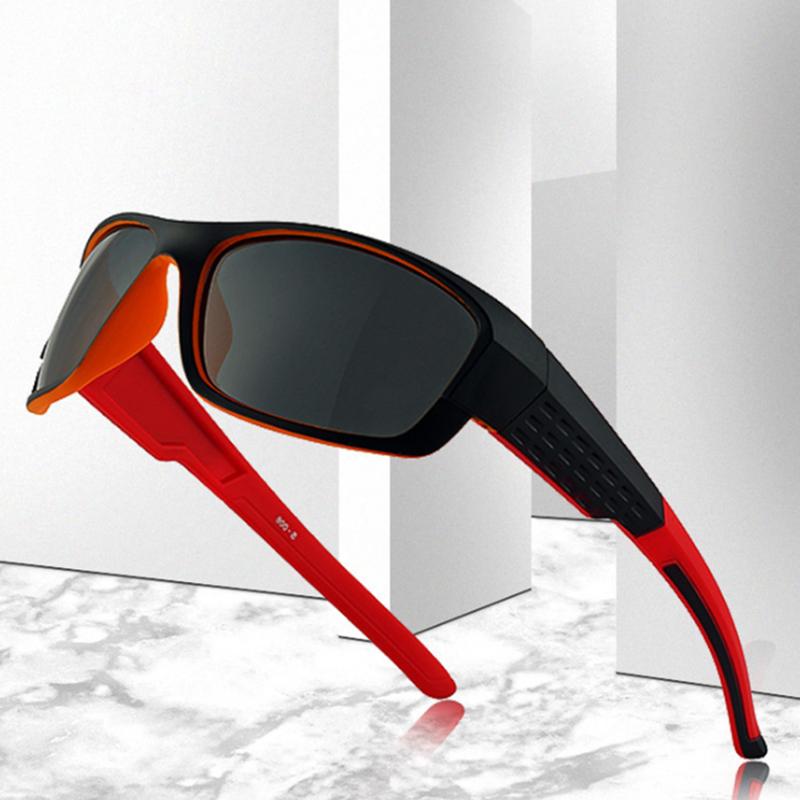 2019 Newest Polarized Cycling Glasses Anti-UV PC Frame Sport Cycling Eyewear Sport Sunglasses Men Oculos De Ciclismo