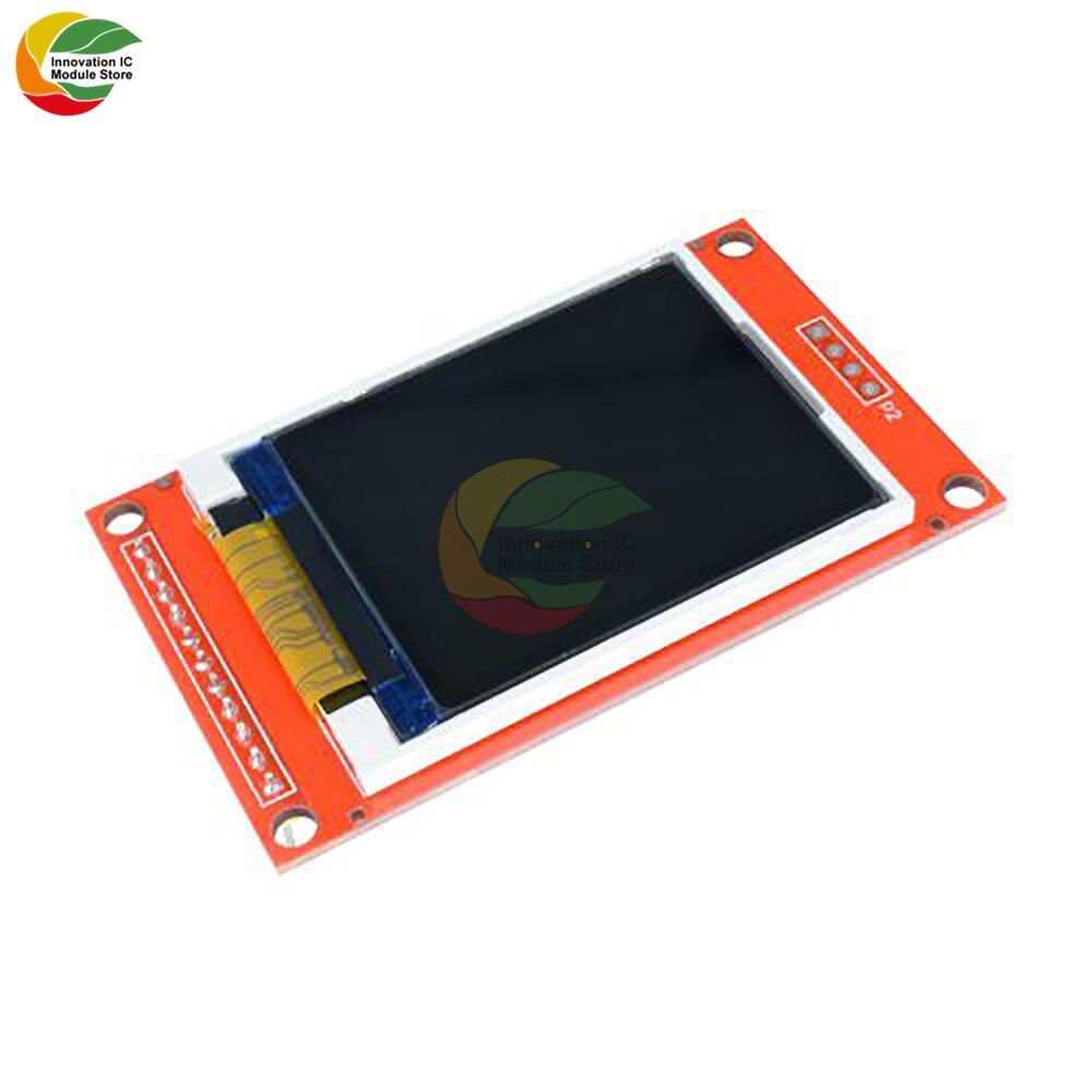 Модуль ЖК-дисплея TFT 1,8 дюйма 1,8 дюймов ST7735S, контроллер 128x160 51/AVR/STM32/ARM 8/16 бит, плата привода для Arduino SPI I/O IO