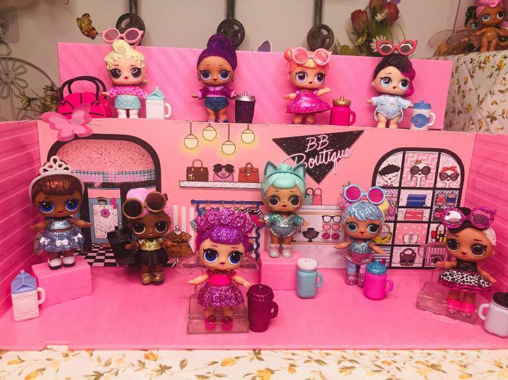 1 pçs original lol surpresa 8cm boneca lol boneca estilos podem ser selecionados brinquedos presente da menina