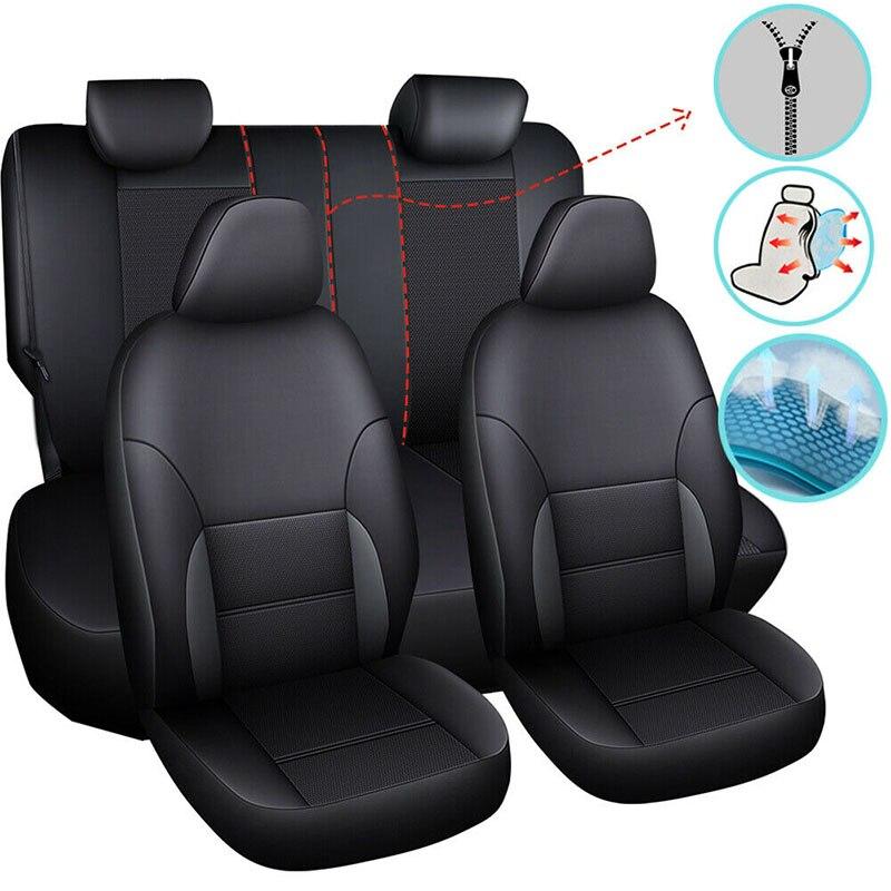 Cubierta de asiento de coche silla Protector Universal para Infiniti Q50 Q70 Q70l Qx30 Qx60 Isuzu D-max Rodeo 2013, 2014, 2015, 2016, 2017, 2018
