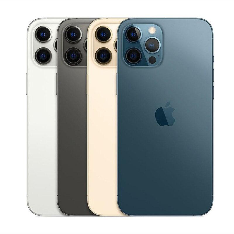Перейти на Алиэкспресс и купить Б/у разблокированный iPhone 12 Pro 5G смартфон A14 двойной 12MP камера 128/256/512 ГБ шестиядерный 6,1 дюймдюймовый экран для сотового телефона
