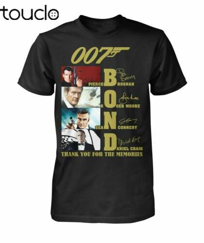 Sean Connery James Bond 007 Noun Thank You For The Memories T-shirt Size S-3XL