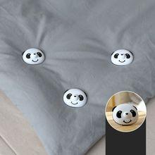 8 pièces Panda housse de couette pince literie couette couette sac support Clips pince attache ensemble pratique facile à utiliser pas daimant