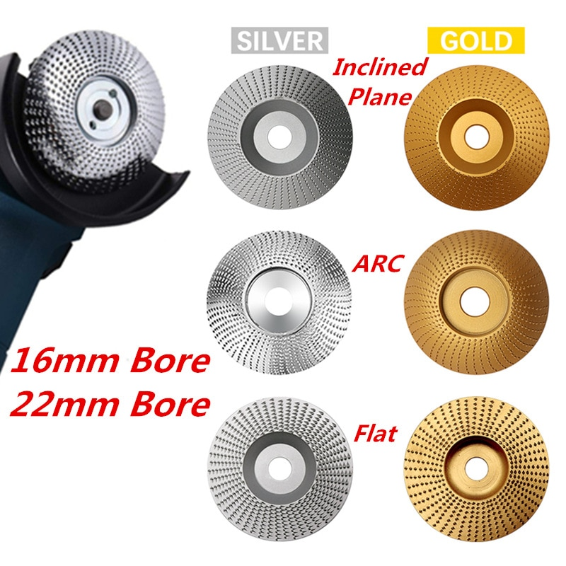 Дървено шлифовъчно колело въртящ се диск шлифоване дърворезба инструмент абразивни дискови инструменти за ъглошлайф 4 инча отвор