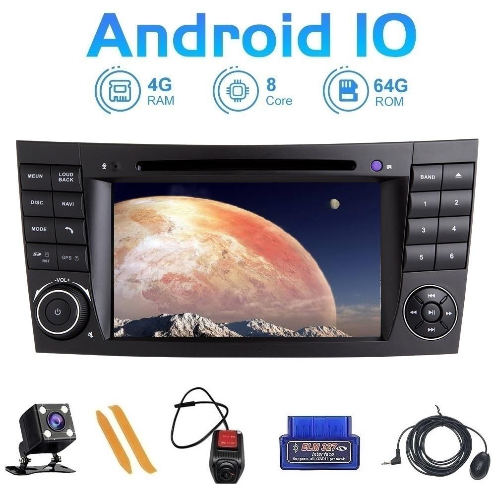 Zltoopai-راديو السيارة 7 بوصة ، Android 10 ، نظام الملاحة GPS ، مشغل الوسائط ، لمرسيدس بنز E-Class ، W211 ، CLS ، W219 G ، W463 ، GLK ، W209