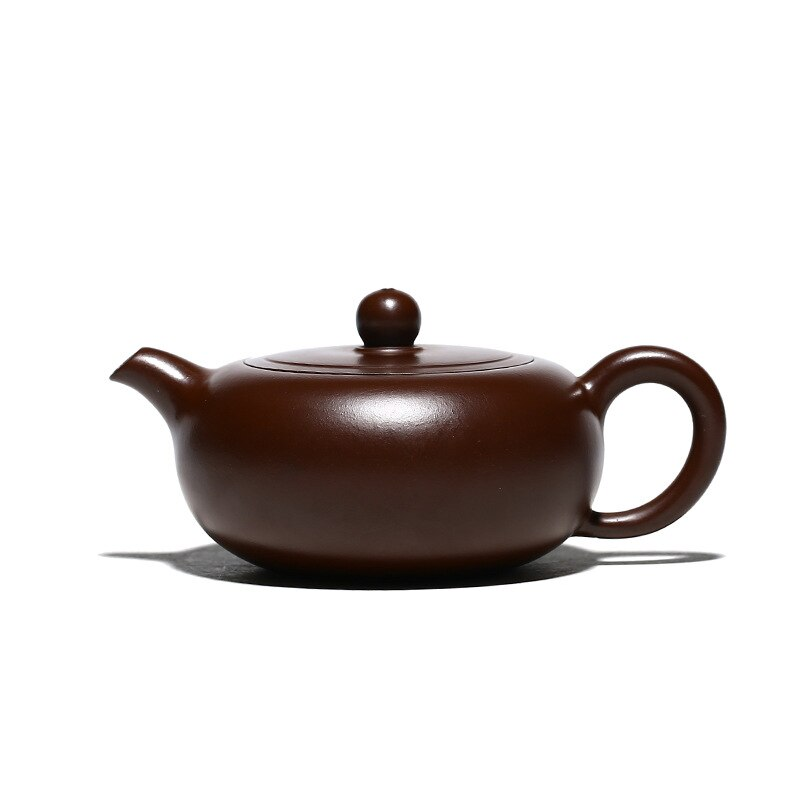 Yixing الأرجواني الطين إبريق الشاي ، Zisha ، طقم شاي ، مجموعة الشرب ، شرب الشاي ، اليدوية ، الأرجواني الطين شقة اليشم وعاء