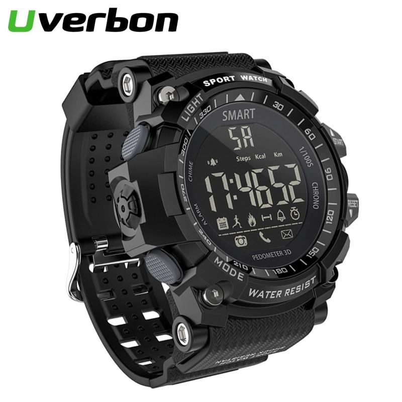 EX16 Smart Watch Sport Pedometer Wristband IP67 Waterproof Bluetooth V4.0 Clock Long Standby Camouflage Outdoor Smartwatch
