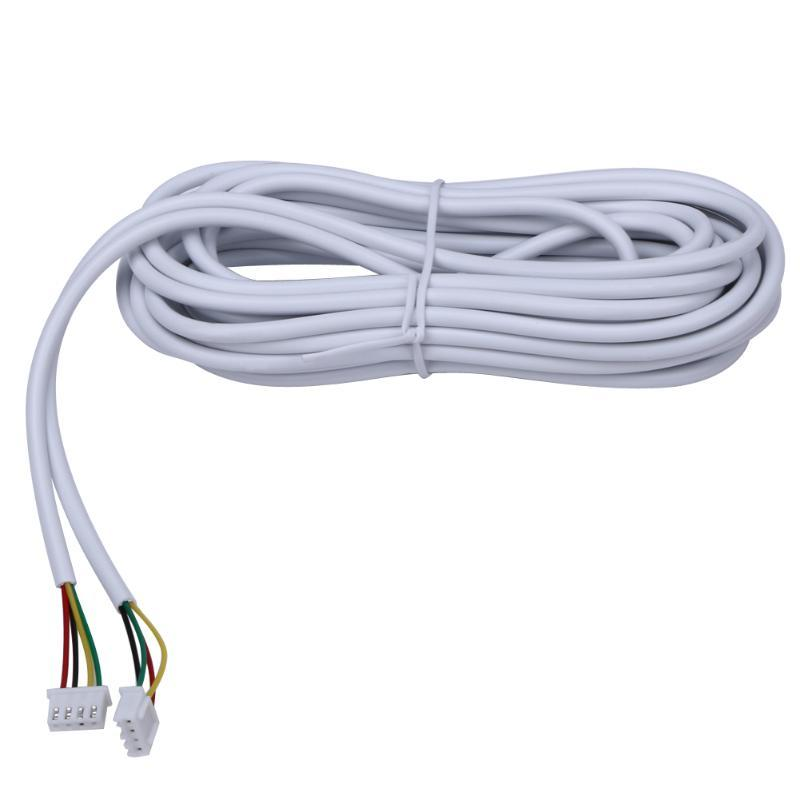 10M/20M/30M/40M/50M AVVR 4*0.12 4 Wire Copper Line for Video Intercom Color Video Door Phone Doorbell Wired Intercom Cable enlarge