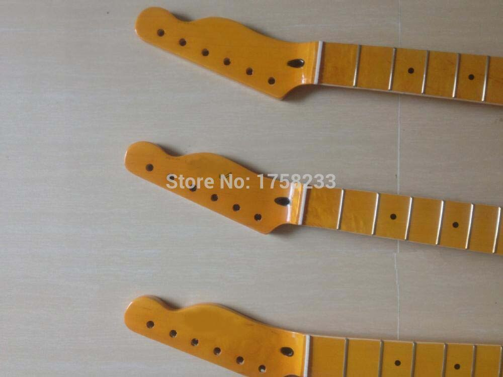 Free shipping new tele tl  electric guitar neck in maple wood  22 fret enlarge