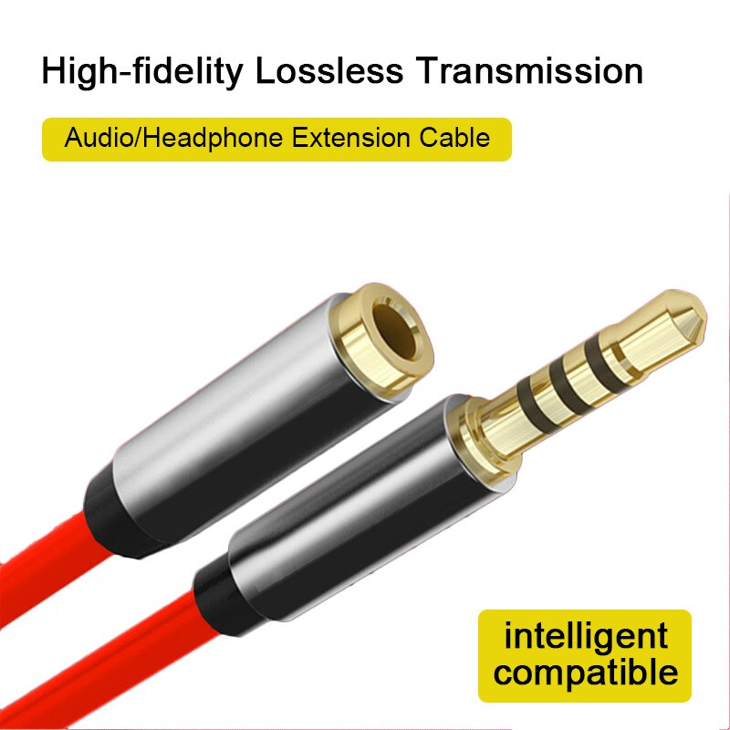 1m/2m/3-m AUX Cable 3.5mm Audio Extension Cable Jack Male To Female Headphone Cable For Car Earphone