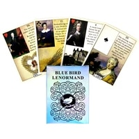 2021 new tarot cards blue bird lenormand and pdf guidance divination deck entertainment parties board game 38 pcsbox