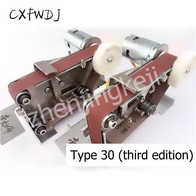 Máquina pulidora eléctrica pequeña para SD-02, máquina pulidora con ángulo fijo, máquina de pulido con hoja en V