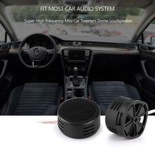 2pcs Car Mini Dome Tweeter Loudspeaker Loud Speaker Universal High Frequency Super Power Audio Auto Sound