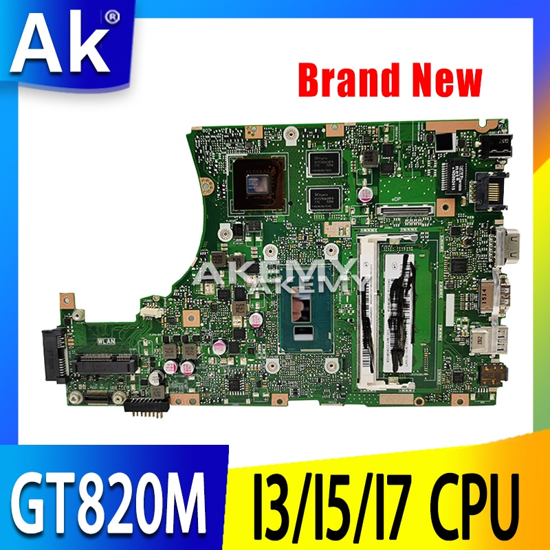 X455LJ اللوحة ل For Asus X455L X455LJ X455LB X455LD A455L F455L K455L اللوحة المحمول 4G RAm Gt820M i3/i5/i7 EDP/LVDS