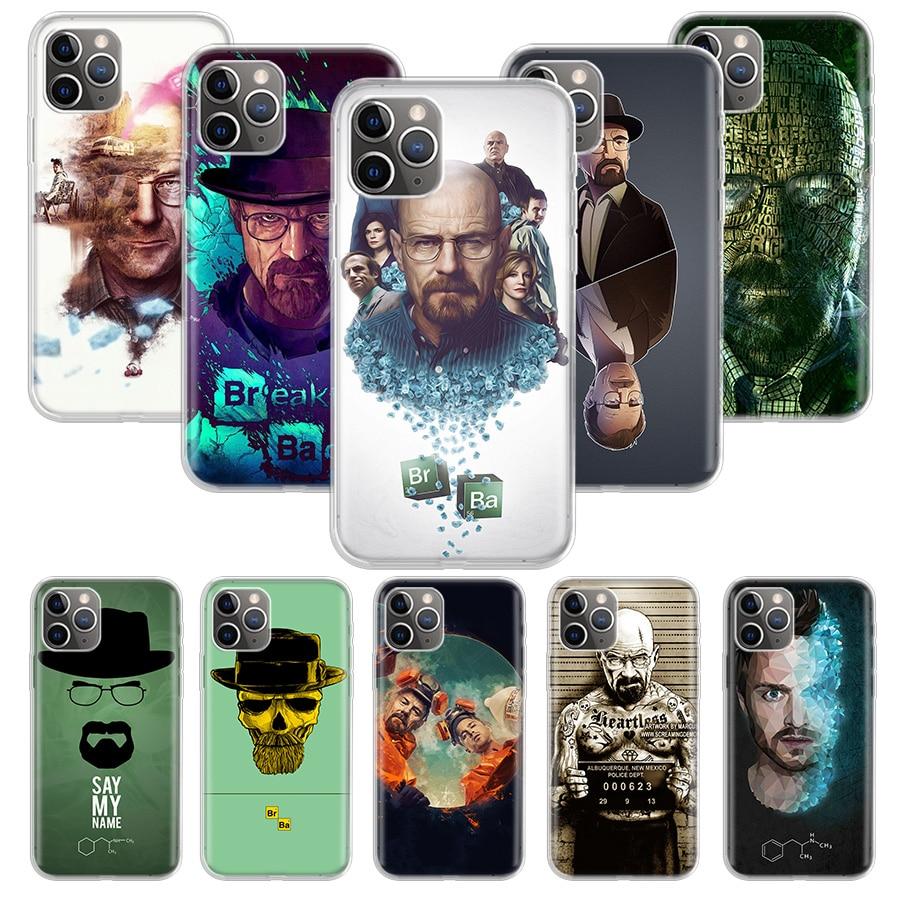 Quebrando caso ruim para apple iphone 11 pro xs max xr x 7 8 6 s mais 5 5S se 10 dez presente silicone telefone capa coque