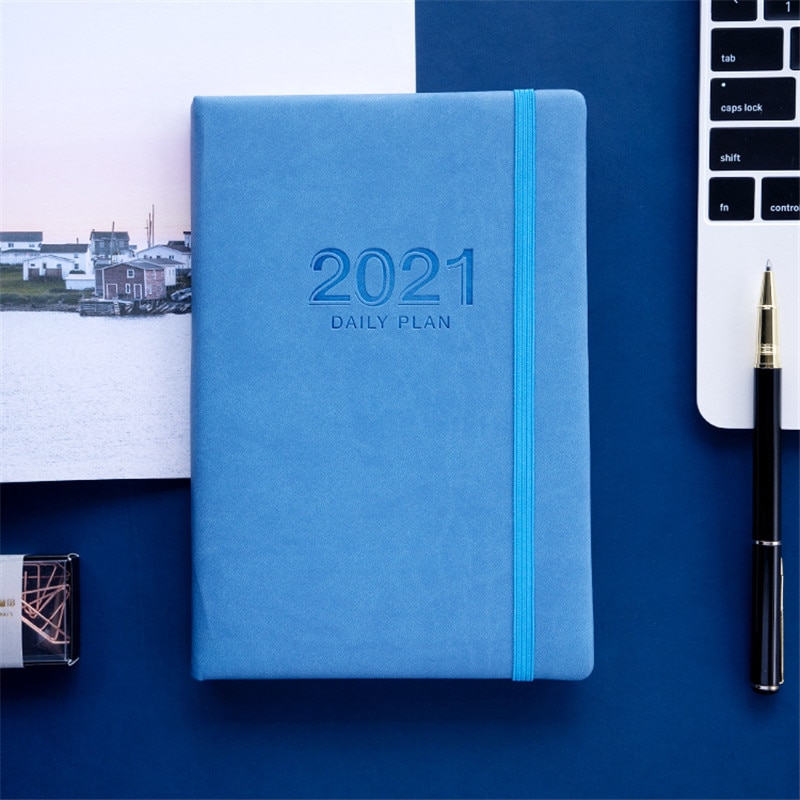 English Agenda 2021 Planner Organizer A5 Notebook and Journal Weekly Diary Notepad Monthly Note Book School Calendar Daily Plan 2021 planner agenda organizer a5 diary plan notebook and journal office note book weekly calendar daily schedule school notepad