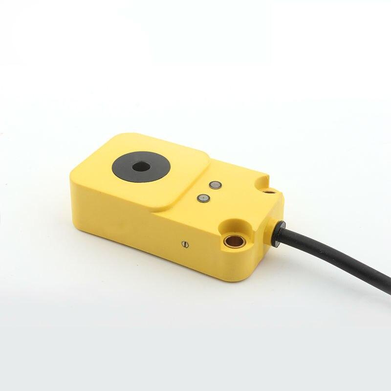 مستشعر مفتاح حلقي كهروضوئي يكتشف جزيئات الزجاج البلاستيكي غير المعدني والخشب والمطاط