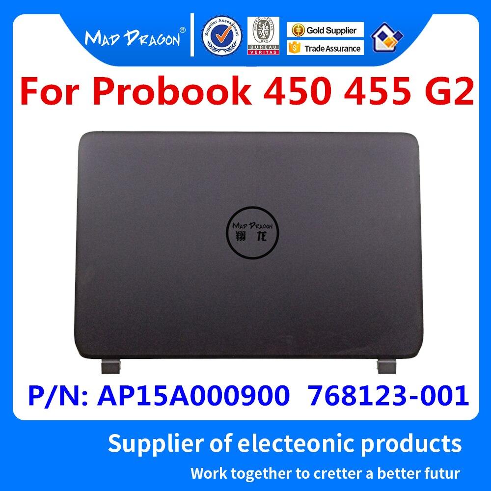 Nuevo ordenador portátil MAD DRAGON, LCD, tapa trasera, tapa superior, funda LCD para HP Probook 450 450 G2 450G2 AP15A000900