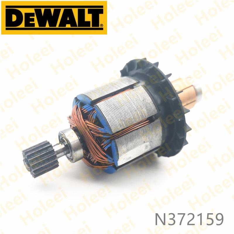 DeWALT 18V ARMATURE Rotor for 20V Max DCD985 DCD985N DCD985M2 N372159 Power Tool Accessories Electric tools part