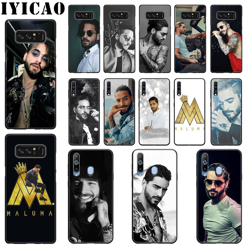 IYICAO cantante Maluma funda de silicona suave para Samsung A70 A60 A50 A40 A30 A20 A10 M40 M30 M20 M10 nota 8 9 teléfono caso