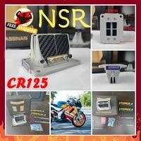 v force 2 nsr cr125 moto dm01 delta 2 reed valve system carbon fiber new