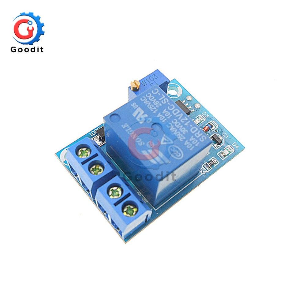 Placa de protección de batería de 12V bajo voltaje, módulo de protección de controlador de interruptor de carga de corte