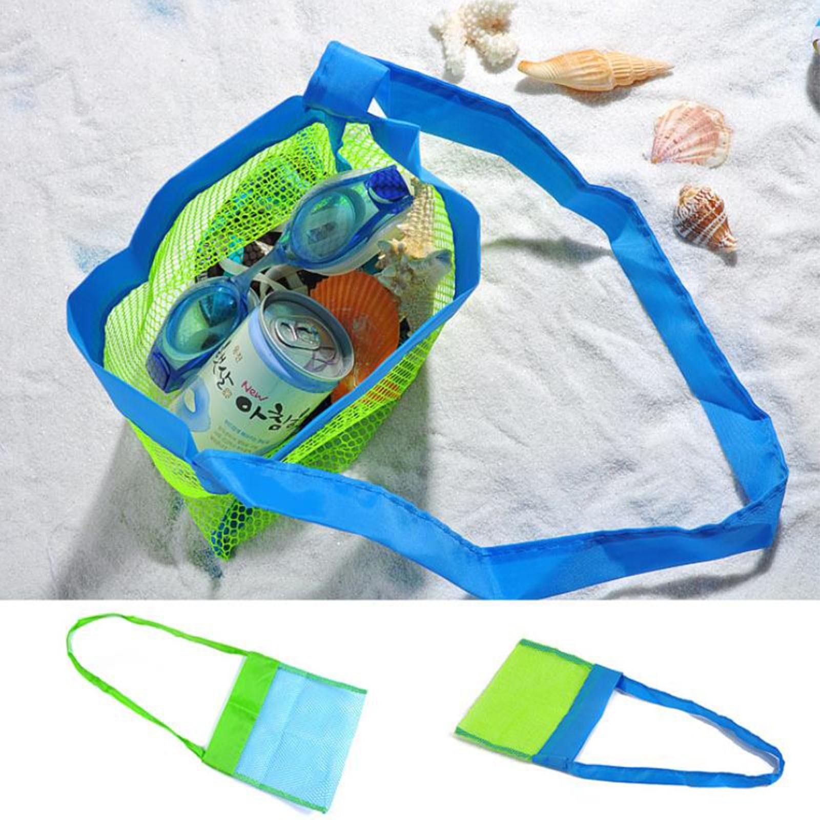 Beach Net Bag Children's Toys Quickly Organize Convenient High Quality Beach Storage Bag Сумка Для Хранения