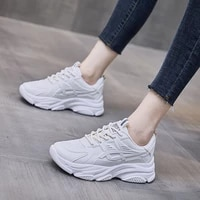 2021 autumn new korean style sports shoes female fashion student dad shoes net red street shooting breathable womens shoes