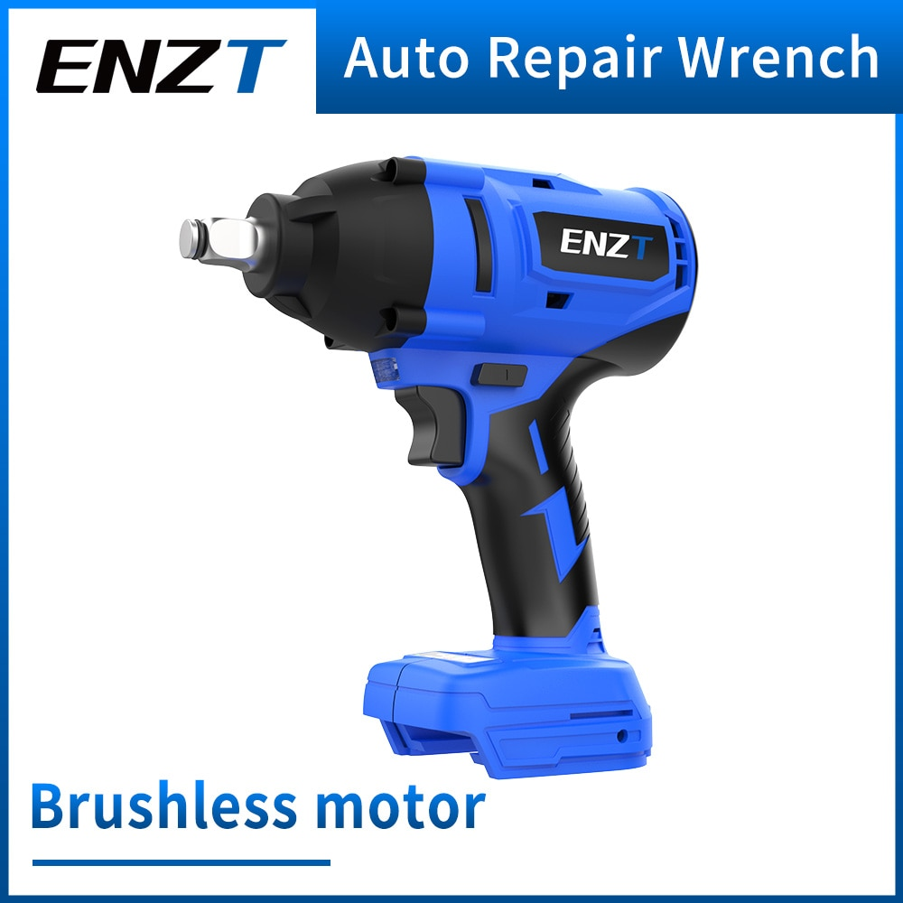 ENZT Industrial Brushless Lithium Wrench For Makita Battery 600N Super Torque Cordless Electric Wrench Easy Removal Of Car Tires
