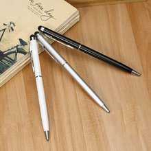 Universal 2 in 1 Stylus Drawing Tablet Pens Capacitive Screen Caneta Touch Pen For iPad Tablet PC Ph