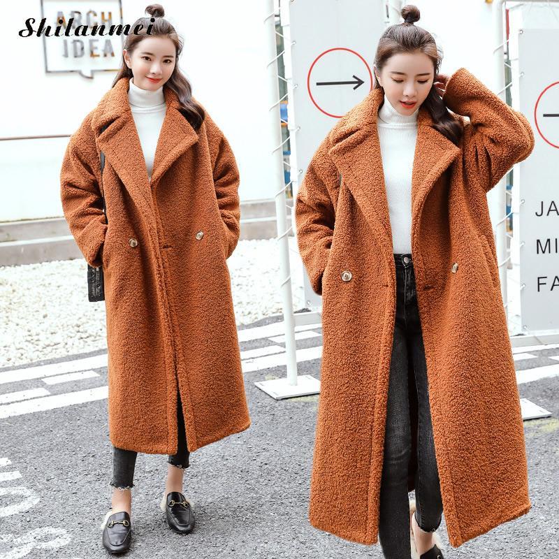 Abrigo de invierno de gran tamaño de estilo coreano de 2019 para...