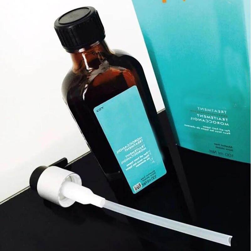 Cabelo traitment para todos os tipos de cabelo tratamento de óleo do cabelo 3.4 floz 100ml com bomba