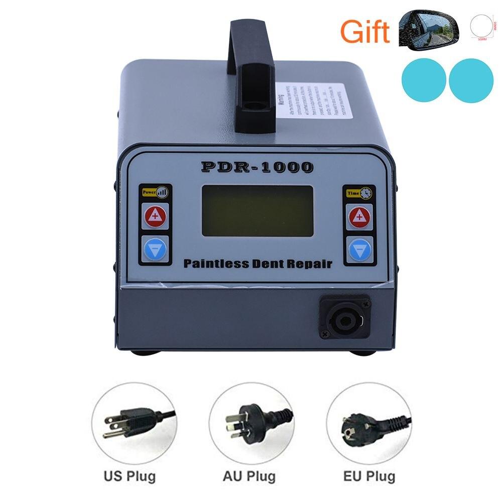 Herramienta de reparación de abolladuras sin pintura automotriz 110 V/220 V calefactor por inducción magnética sin pintura para quitar abolladuras del cuerpo del coche herramienta removedor de abolladuras
