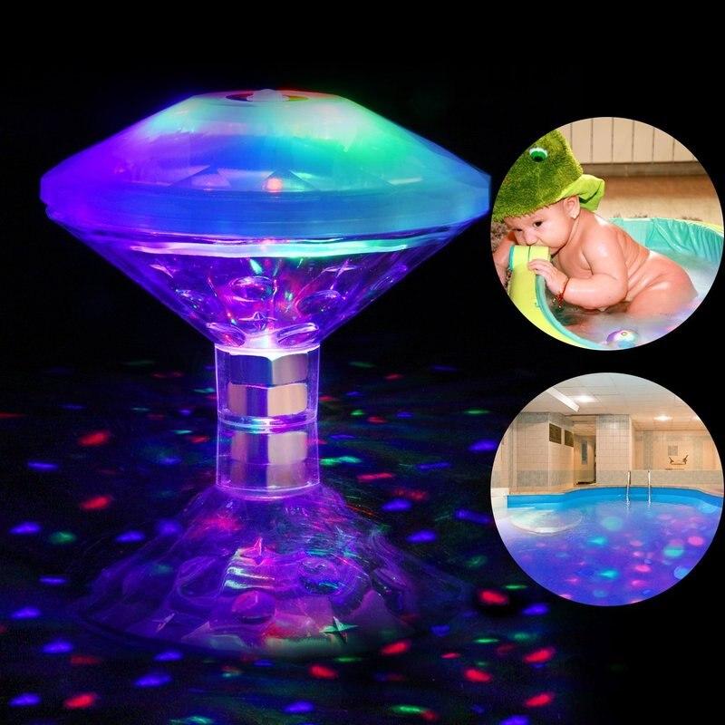 luz led submersivel para piscina acessorios para piscina luz solar para piscina festas