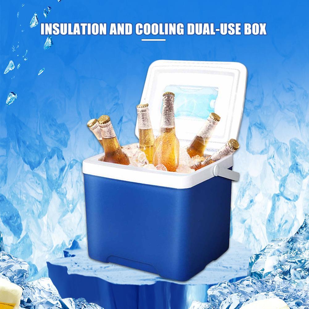 Refrigerador para carro, portátil, 5l, refrigerador, geladeira, incubadora, para pesca, acampamento, churrasco