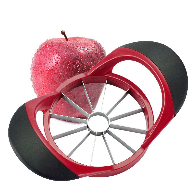 Apple Slicer Upgraded Version 12-Blade Large Corer, Stainless Steel Ultra-Sharp Cutter for Women Christmas